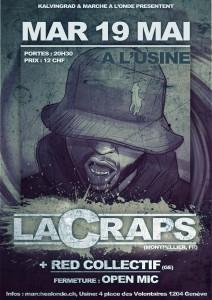Affiche LaCraps (19.05.15) open mic
